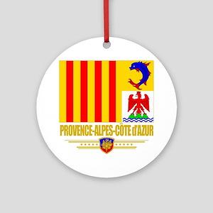 Provence-Alpes-Cote (Flag 10) Round Ornament