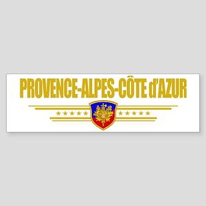 Provence-Alpes-Cote (Flag 10) poc Sticker (Bumper)