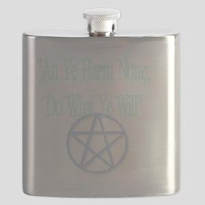 light pentagram Flask