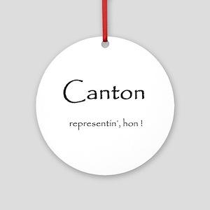 Canton hon Ornament (Round)