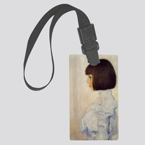 Gustav_Klimt_Portrait_of_Helene_ Large Luggage Tag