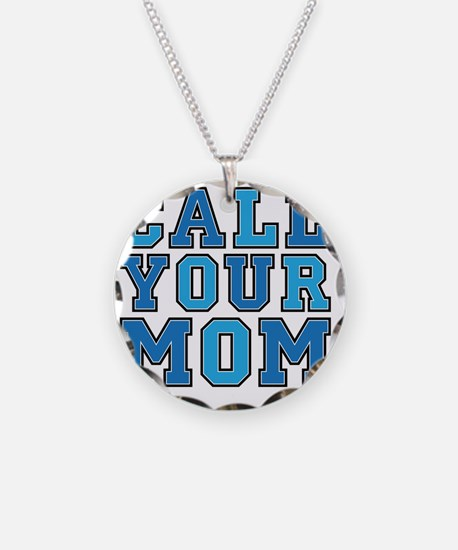 call your mom pillow Necklace