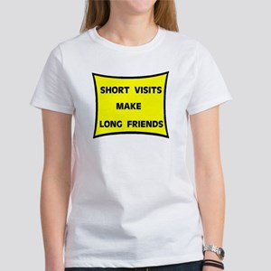 SHORT VISITS Women's T-Shirt