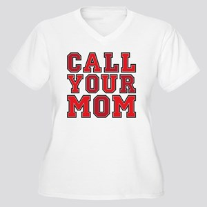 call your mom pil Women's Plus Size V-Neck T-Shirt