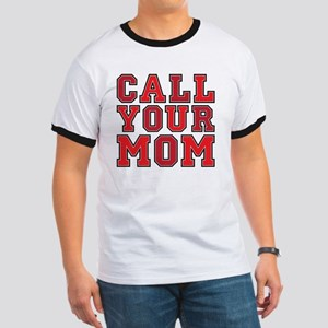 call your mom pillow Ringer T