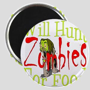 Will Hunt Zombies dark Magnet