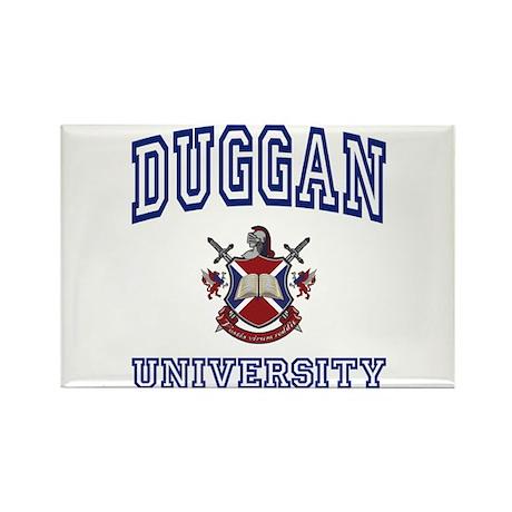 DUGGAN University Rectangle Magnet