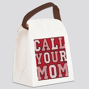 call your mom pillow Canvas Lunch Bag