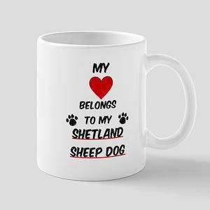Shetland Sheep Dog Mugs