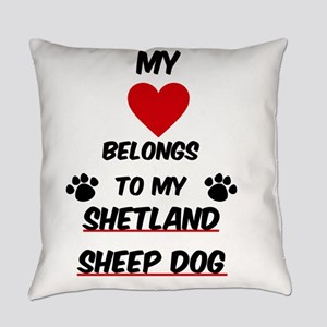 Shetland Sheep Dog Everyday Pillow