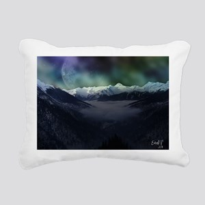 Calender Space 01 Rectangular Canvas Pillow