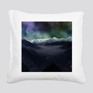 Calender Space 01 Square Canvas Pillow