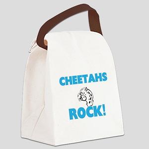 Cheetahs rock! Canvas Lunch Bag