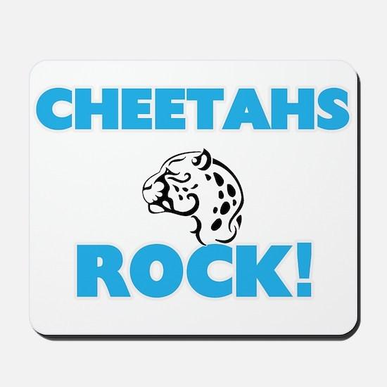 Cheetahs rock! Mousepad