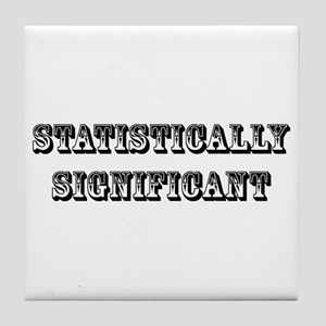 Statistically Significant Tile Coaster