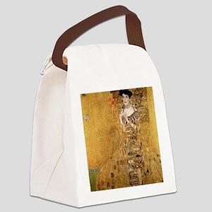 klimt Adele Bloch Bauer 2 Canvas Lunch Bag