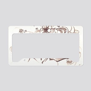 Ophelia Rising License Plate Holder