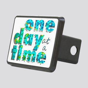 one day text graphic_final Rectangular Hitch Cover