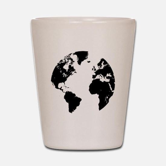 the world Shot Glass