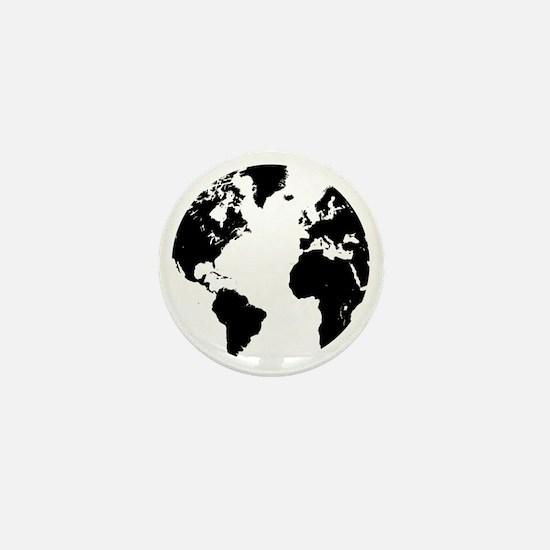 the world Mini Button