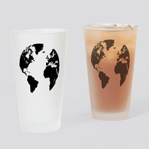 the world Drinking Glass