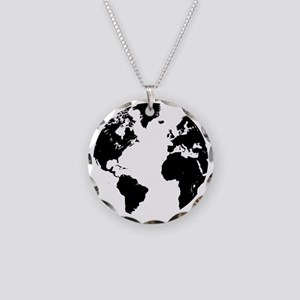 The World Necklace Circle Charm