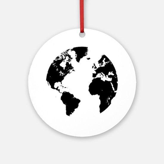The World Round Ornament