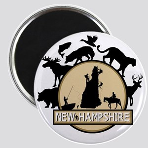 New Hampshire Magnet