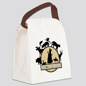 New Hampshire Canvas Lunch Bag