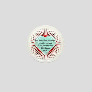 mothers-love-heart1 Mini Button