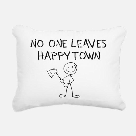 sacredo-happytown Rectangular Canvas Pillow