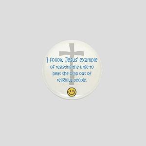 sacredo-jesusexampl Mini Button