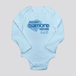 Alpha Delta Pi Future Long Sleeve Infant Bodysuit