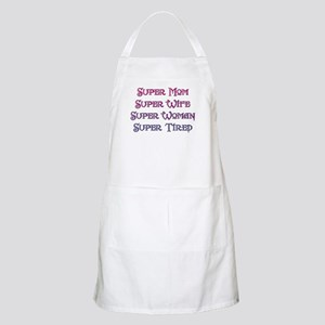 Super Tired BBQ Apron