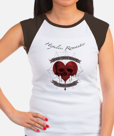 Hopeless Romantic Women's Cap Sleeve T-Shirt