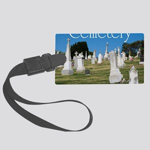 CAL2_COVER_Cemetery_040 Large Luggage Tag