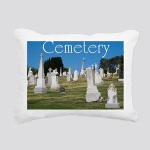 CAL2_COVER_Cemetery_040 Rectangular Canvas Pillow