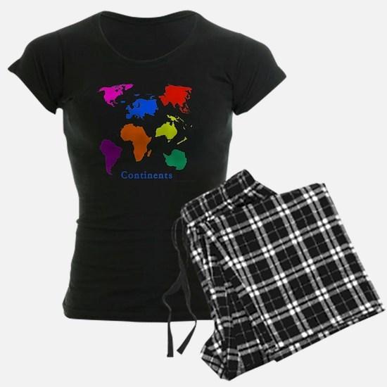 Continents-10x10_apparel Pajamas