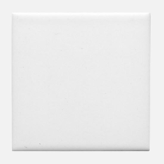 Resistance is not futile (white) Tile Coaster