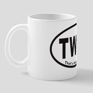 twssovals20113x5cp Mug