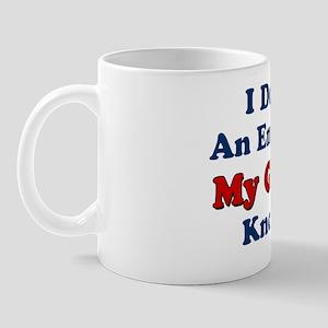 Greek Wife Knows It All Mug