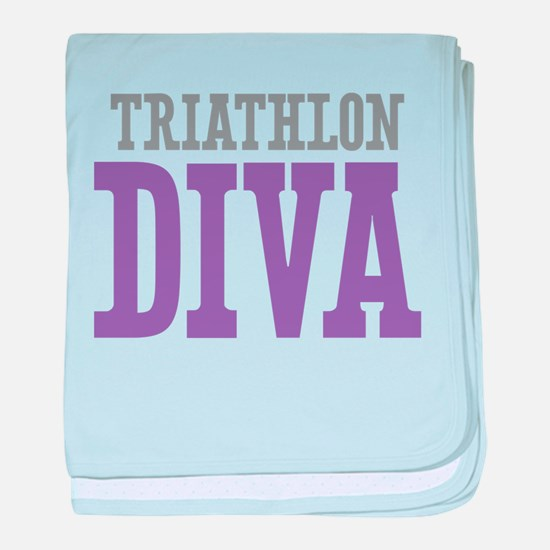 Triathlon DIVA baby blanket