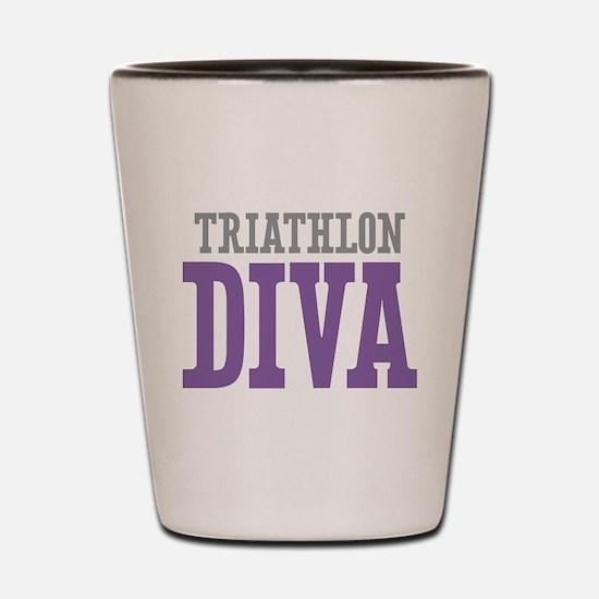 Triathlon DIVA Shot Glass