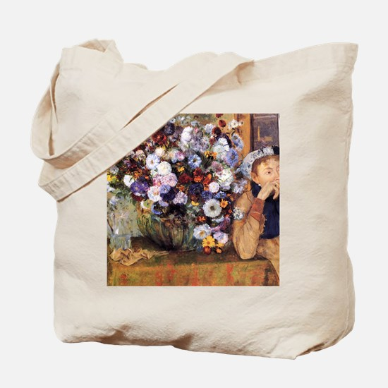 degas and woman Tote Bag