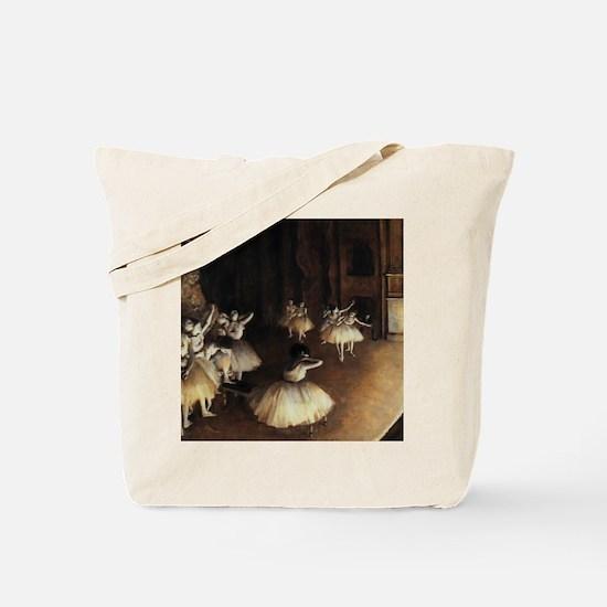 degas ballet 6 Tote Bag