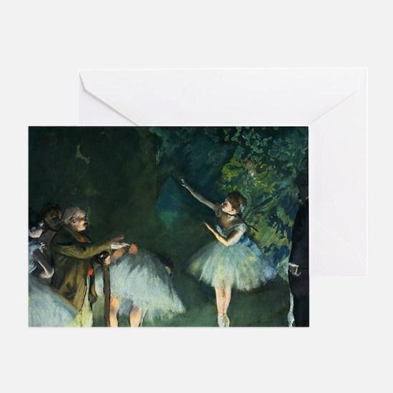 degas ballet 2 Greeting Card