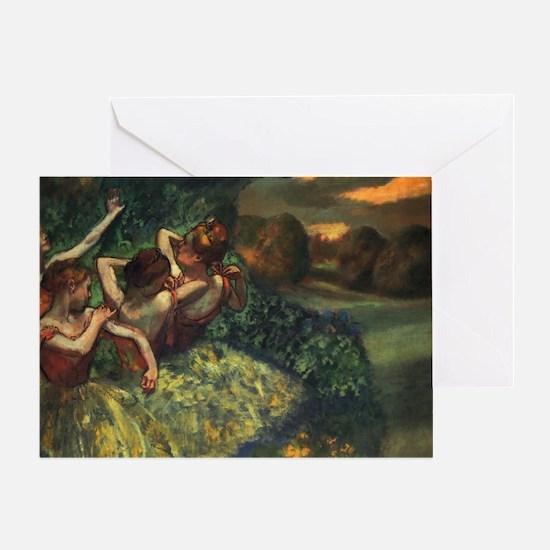 degas ballet 13 Greeting Card