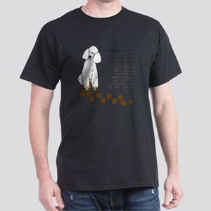 footprints-poodle standard copy Dark T-Shirt