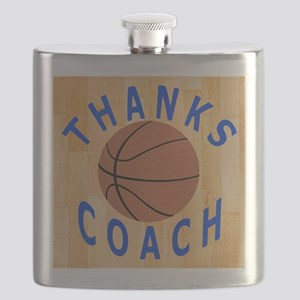 Thank You Basketball Coach Gift iPad Case Flask