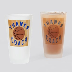 Thank You Basketball Coach Gift iPa Drinking Glass